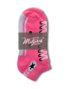 6 pairs Sneaker Socks lt Pink v2 Women's / Girls Socks Shoe Size 4-10